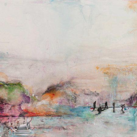les-4-saisons_encre-dalcool-acrylique-fluide-collage-gel-dentelles-et-mdiums-mixtes-sur-papier-terraskin_40x20-pouces-102x51cm